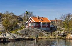 Όμορφο αρχιπέλαγος του Γκέτεμπουργκ - της Σουηδίας Στοκ Φωτογραφίες