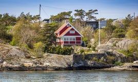 Όμορφο αρχιπέλαγος του Γκέτεμπουργκ - της Σουηδίας Στοκ εικόνα με δικαίωμα ελεύθερης χρήσης