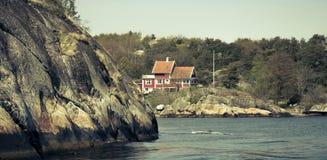 Όμορφο αρχιπέλαγος του Γκέτεμπουργκ - της Σουηδίας Στοκ Εικόνα
