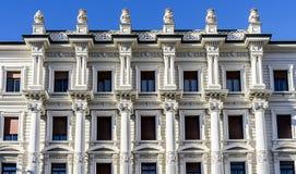 Όμορφο αρχιτεκτονικό κτήριο Paribas Gruppo bnp στοκ φωτογραφία με δικαίωμα ελεύθερης χρήσης