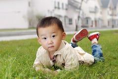 Όμορφο ασιατικό αγόρι στοκ εικόνα με δικαίωμα ελεύθερης χρήσης