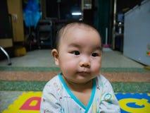 Όμορφο ασιατικό μωρό Cutie στοκ εικόνες