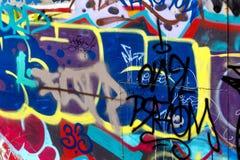Όμορφο αφηρημένο δημιουργικό χρώμα υποβάθρου γκράφιτι Στοκ φωτογραφία με δικαίωμα ελεύθερης χρήσης