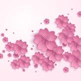 Όμορφο αφηρημένο floral καθιερώνον τη μόδα υπόβαθρο με Στοκ φωτογραφίες με δικαίωμα ελεύθερης χρήσης