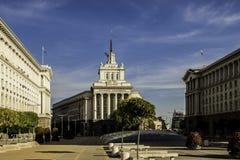 Όμορφο βουλγαρικό κεφάλαιο - Sofia τον Οκτώβριο Στοκ φωτογραφία με δικαίωμα ελεύθερης χρήσης