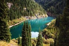 όμορφο βουνό λιμνών στοκ εικόνες