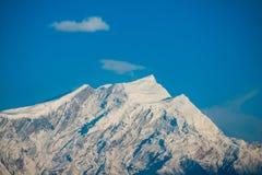 Όμορφο βουνό χιονιού της σειράς Annapurna Himalayan Στοκ Φωτογραφία