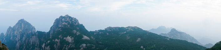 Όμορφο βουνό Huangshan στην Κίνα Στοκ Εικόνες