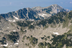 Όμορφο βουνό Pirin θερινής άποψης βόρειο Στοκ φωτογραφία με δικαίωμα ελεύθερης χρήσης