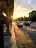 Όμορφο βράδυ στο Παρίσι στοκ εικόνες
