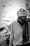 όμορφο γέλιο κοριτσιών Στοκ εικόνες με δικαίωμα ελεύθερης χρήσης