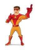 Όμορφο γέλιο Superhero ελεύθερη απεικόνιση δικαιώματος