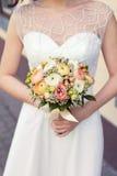 Όμορφο γαμήλιο ζωηρόχρωμο μπουκέτο του βατραχίου Στοκ εικόνα με δικαίωμα ελεύθερης χρήσης