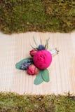 Όμορφο γαμήλιο λουλούδι bonbonniere Στοκ Εικόνα