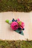 Όμορφο γαμήλιο λουλούδι bonbonniere Στοκ εικόνα με δικαίωμα ελεύθερης χρήσης