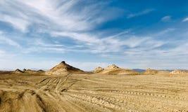 Όμορφο γεωλογικό τοπίο σε Qinghai, που βρίσκεται στα βορειοδυτικά της Κίνας στοκ εικόνες
