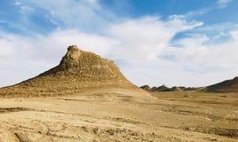 Όμορφο γεωλογικό τοπίο σε Qinghai, που βρίσκεται στα βορειοδυτικά της Κίνας στοκ φωτογραφία