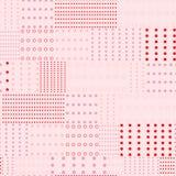 Όμορφο γλυκό monotone ρόδινο σχέδιο μιγμάτων σημείων Πόλκα rertro prin απεικόνιση αποθεμάτων