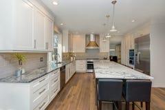 Όμορφο γραπτό σχέδιο κουζινών στοκ εικόνες