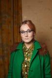 όμορφο γυναικείο πορτρέτο Στοκ Φωτογραφίες