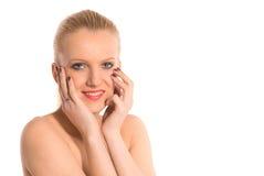 όμορφο γυναικείο πορτρέτ&o στοκ εικόνες με δικαίωμα ελεύθερης χρήσης