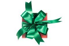 όμορφο διάνυσμα απεικόνισης διακοπών δώρων κιβωτίων Γενέθλια, κόμμα ή νέο έτος, πορείες ψαλιδίσματος Στοκ Φωτογραφία