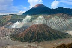 Όμορφο δονούμενο ηφαίστειο Bromo στην ανατολή, έθνος Tengger Semeru Στοκ Φωτογραφίες