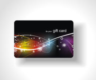 όμορφο δώρο καρτών Στοκ Εικόνες