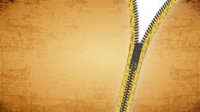 Όμορφο εικονίδιο υποβάθρου κλειστό και ανοικτό φερμουάρ, σύνδεσμος, φερμουάρ, Στοκ εικόνα με δικαίωμα ελεύθερης χρήσης