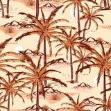 Όμορφο εκλεκτής ποιότητας χέρι που σύρονται και νησί σκίτσων γραμμών θερινό, beac διανυσματική απεικόνιση