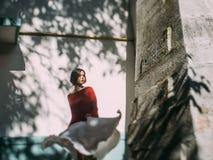 Όμορφο εκλεκτής ποιότητας κορίτσι Στοκ Εικόνες
