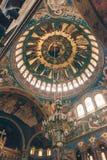 Όμορφο εσωτερικό arhitecture του Sibiu καθεδρικών ναών Ορθόδοξων Εκκλησιών εσωτερικό Στοκ φωτογραφίες με δικαίωμα ελεύθερης χρήσης