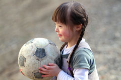 όμορφο ευτυχές πορτρέτο κοριτσιών Στοκ εικόνα με δικαίωμα ελεύθερης χρήσης