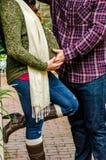 όμορφο ζεύγος έγκυο Στοκ φωτογραφία με δικαίωμα ελεύθερης χρήσης