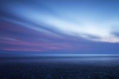 Όμορφο ζωηρόχρωμο Seascape Στοκ Φωτογραφία