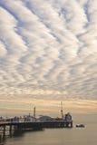 όμορφο ηλιοβασίλεμα απ&omicro Στοκ εικόνες με δικαίωμα ελεύθερης χρήσης