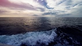 όμορφο ηλιοβασίλεμα παρ& στοκ φωτογραφία