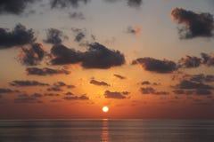 Όμορφο ηλιοβασίλεμα - Muscat, Ομάν Στοκ φωτογραφίες με δικαίωμα ελεύθερης χρήσης