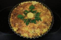 Όμορφο ηλιόλουστο casserole με τα λαχανικά Στοκ φωτογραφίες με δικαίωμα ελεύθερης χρήσης