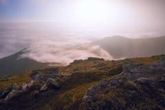 Όμορφο θερινό τοπίο, βουνά της Ευρώπης, ταξίδι της Ευρώπης, κόσμος ομορφιάς Στοκ Εικόνα