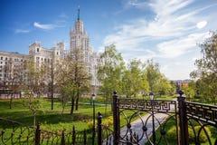 Όμορφο θερινό τοπίο πόλεων, η πρωτεύουσα της Ρωσίας Μόσχα, τ Στοκ φωτογραφίες με δικαίωμα ελεύθερης χρήσης