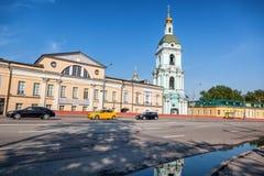 Όμορφο θερινό τοπίο πόλεων, η πρωτεύουσα της Ρωσίας Μόσχα, τ Στοκ Εικόνες