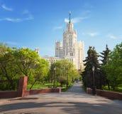 Όμορφο θερινό τοπίο πόλεων, η πρωτεύουσα της Ρωσίας Μόσχα, τ Στοκ Φωτογραφία