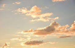 Όμορφο θεϊκό ηλιοβασίλεμα Στοκ εικόνα με δικαίωμα ελεύθερης χρήσης