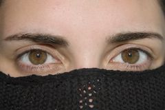 όμορφο θηλυκό ματιών Στοκ Φωτογραφίες