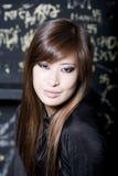 όμορφο θηλυκό πορτρέτο Στοκ Εικόνες