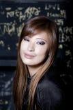 όμορφο θηλυκό πορτρέτο Στοκ εικόνες με δικαίωμα ελεύθερης χρήσης