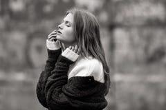 όμορφο θηλυκό πρότυπο πορτρέτο Στοκ φωτογραφία με δικαίωμα ελεύθερης χρήσης