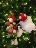 όμορφο διάνυσμα δέντρων απεικόνισης Χριστουγέννων Στοκ Εικόνα