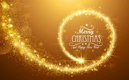 όμορφο διάνυσμα αστεριών απεικόνισης Χριστουγέννων ελεύθερη απεικόνιση δικαιώματος
